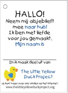 PHOTO of Dutch Tag with Name Space