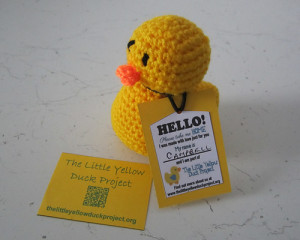 Gorgeous crochet duck by Woolhelmina