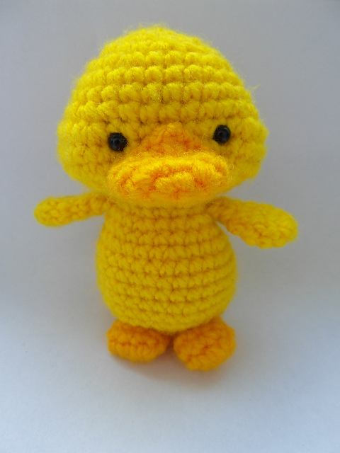 Free Knitting Patterns Toy Duck : Crochet Patterns - The Little Yellow Duck Project
