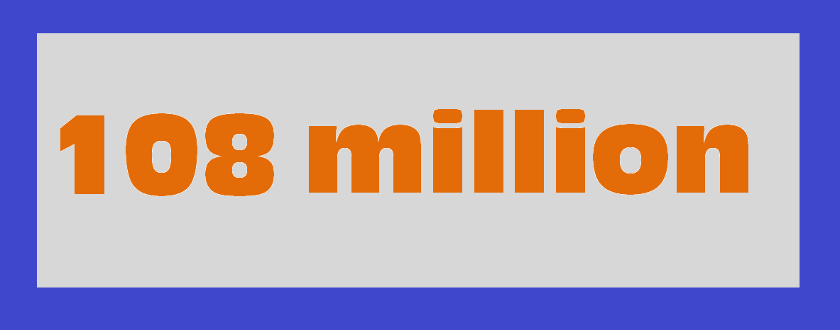 108 million