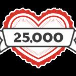 25,000